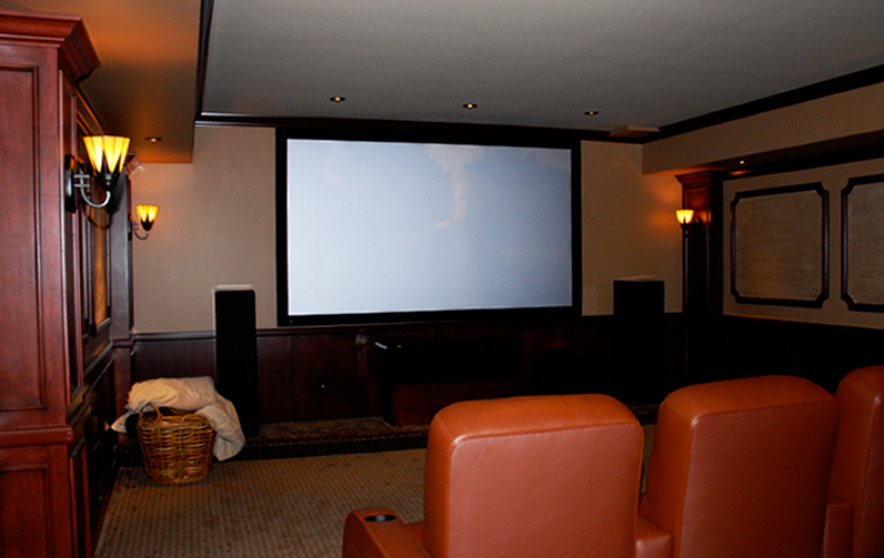 Beginning With A Free Design Main Line Home Theater Installation