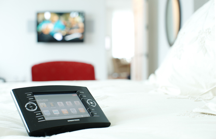 Crestron Home Automation Touchpanel